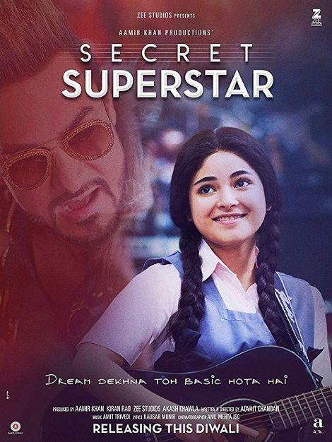 دانلود فیلم فوق ستارهٔ مخفی Secret Superstar 2017