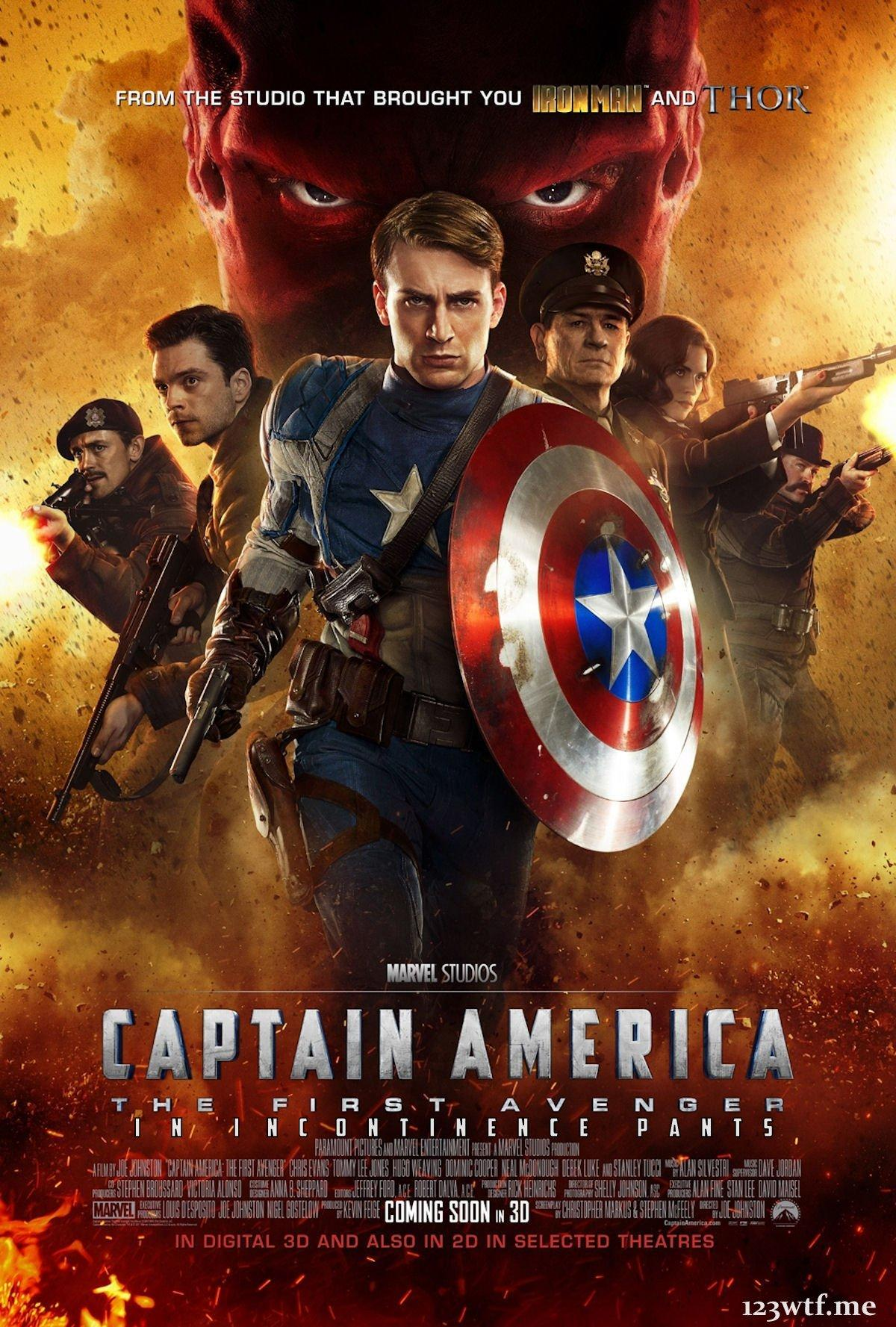 Captain%20America%20The%20First%20Avenger%202011.5 1 دانلود فیلم Captain America: The First Avenger 2011 : کیفیت BluRay REMUX با حجم ۲۹ گیگابایت اضافه شد