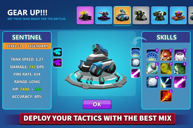 دانلود Tank Raid Online 2.41 - بازی آنلاین و اکشن نبرد تانک ها برای اندروید