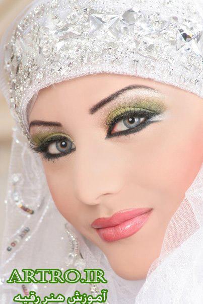 آرایش عروس محجبه جدید