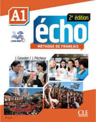کتاب آموزش زبان فرانسوی echo A1
