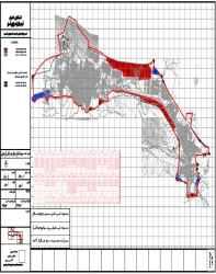 نقشه اتوکد شهر فریدون شهر استان اصفهان
