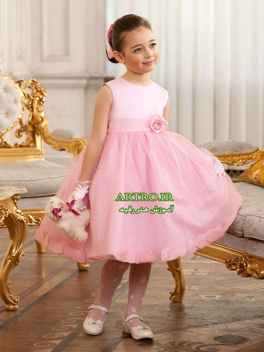 مدل لباس مجلسی دختربچه2018