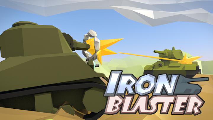 دانلود بازی نبرد تانک های فولادین IronBlaster : Online Tank Battle