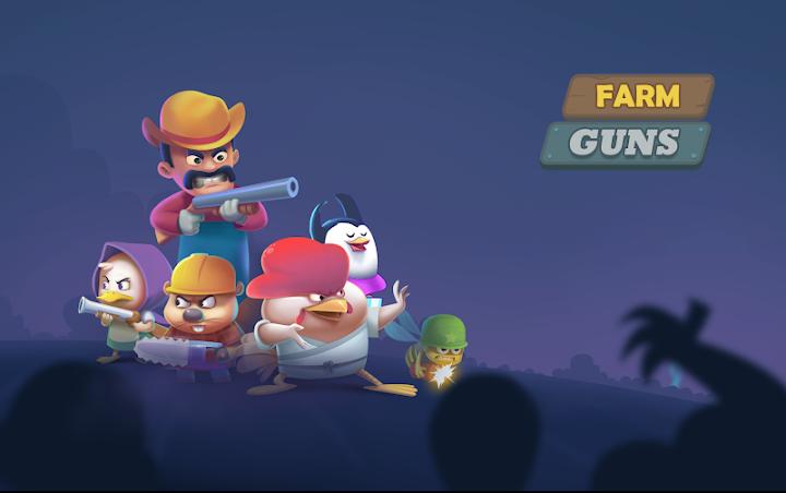 دانلود Farm Guns: Alien Clash 2018 0.7.9 - بازی مزرعه اسلحه: نبرد بیگانگان 2018 برای اندروید + مود