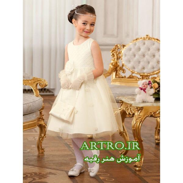 مدل لباس مجلسی دختربچه2018-2019