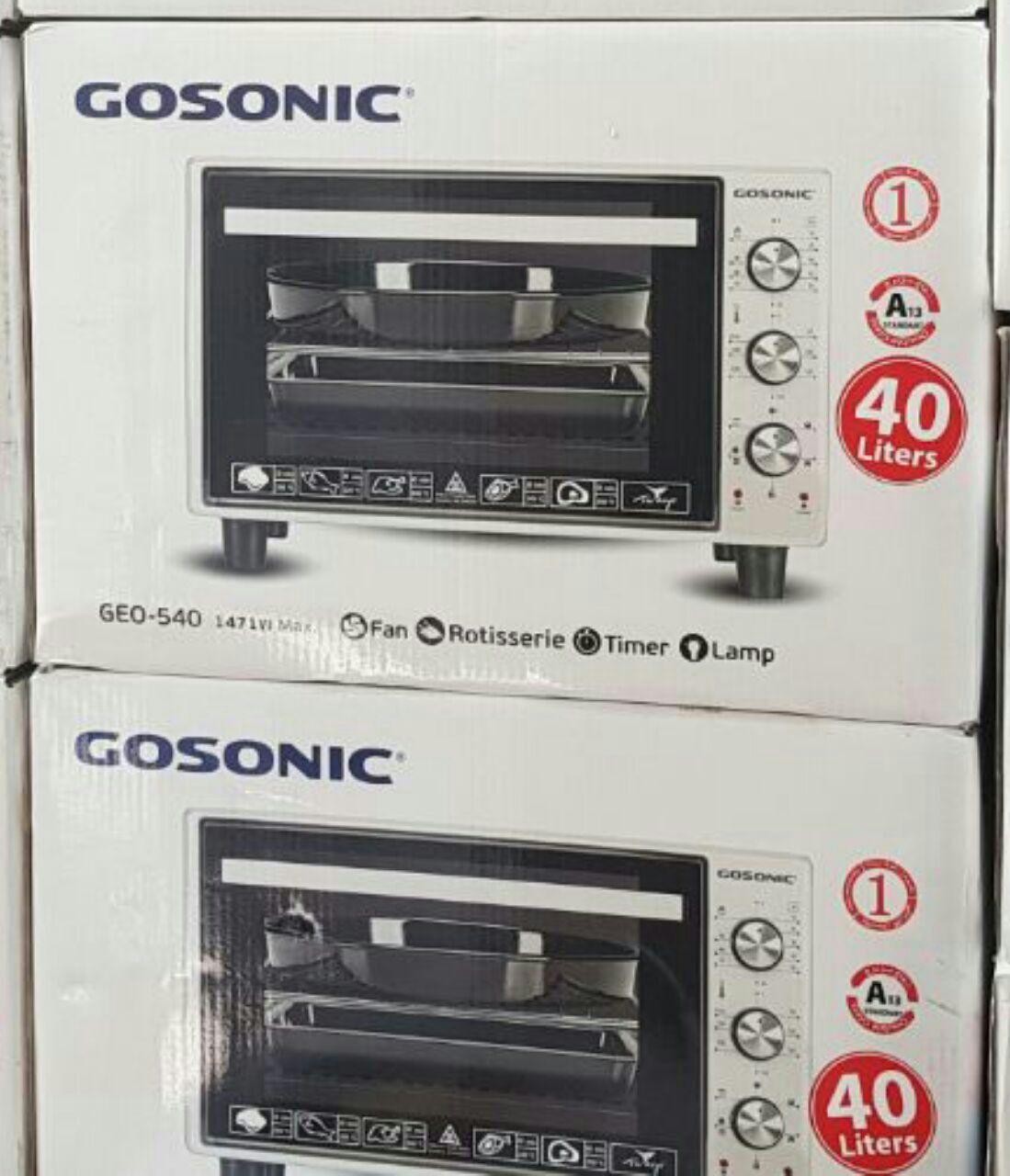 آون توستر 40 لیتری گوسونیک GOSONIC مدل GEO-540 ساخت ترکیه