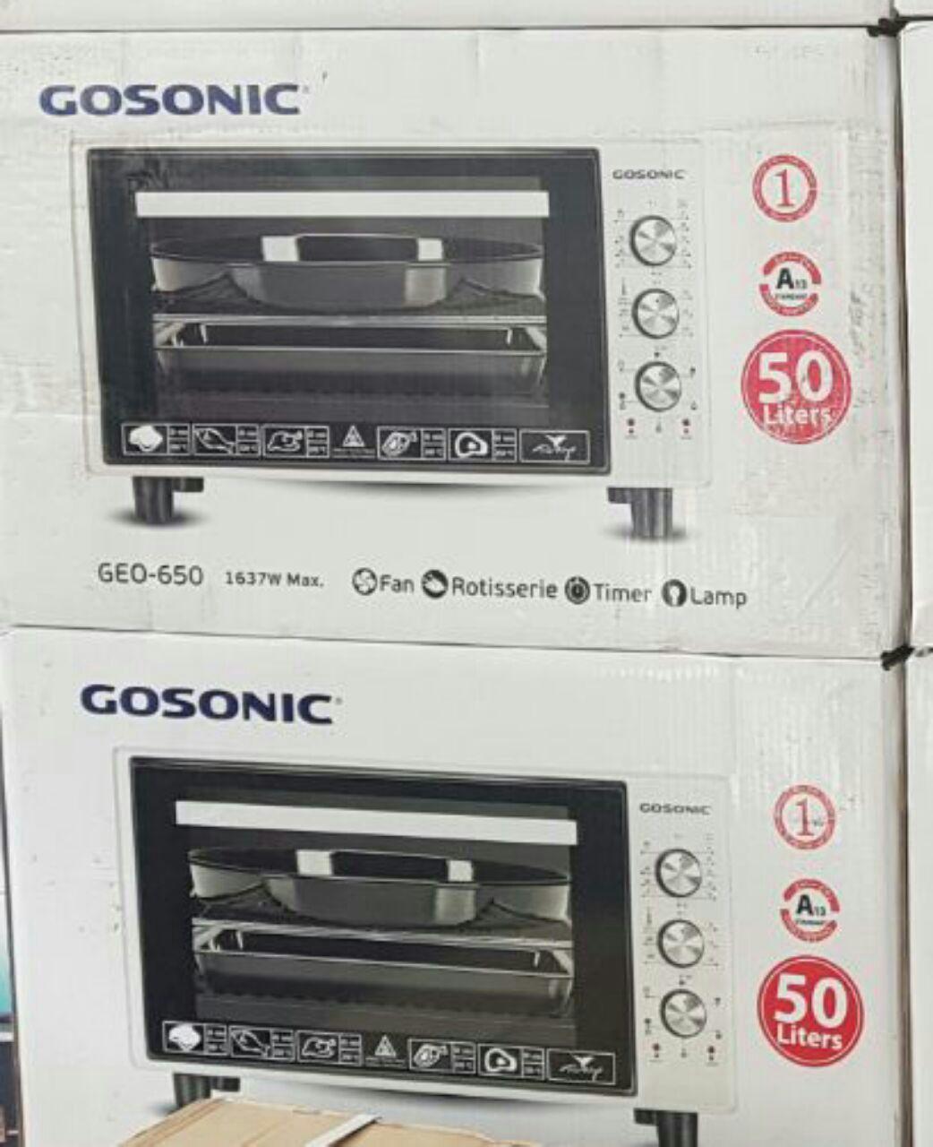 آون توستر 50 لیتری گوسونیک GOSONIC مدل GEO-650 با حداکثر توان
