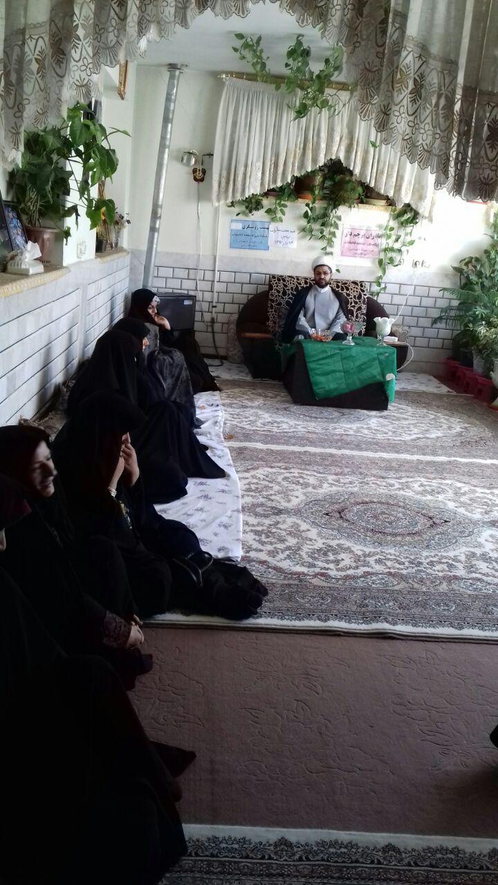 سخنرانی امام جمعه محترم شهر قهدریجان در جمع خواهران بسیجی پایگاه بسیج خواهران روستای کافیشان