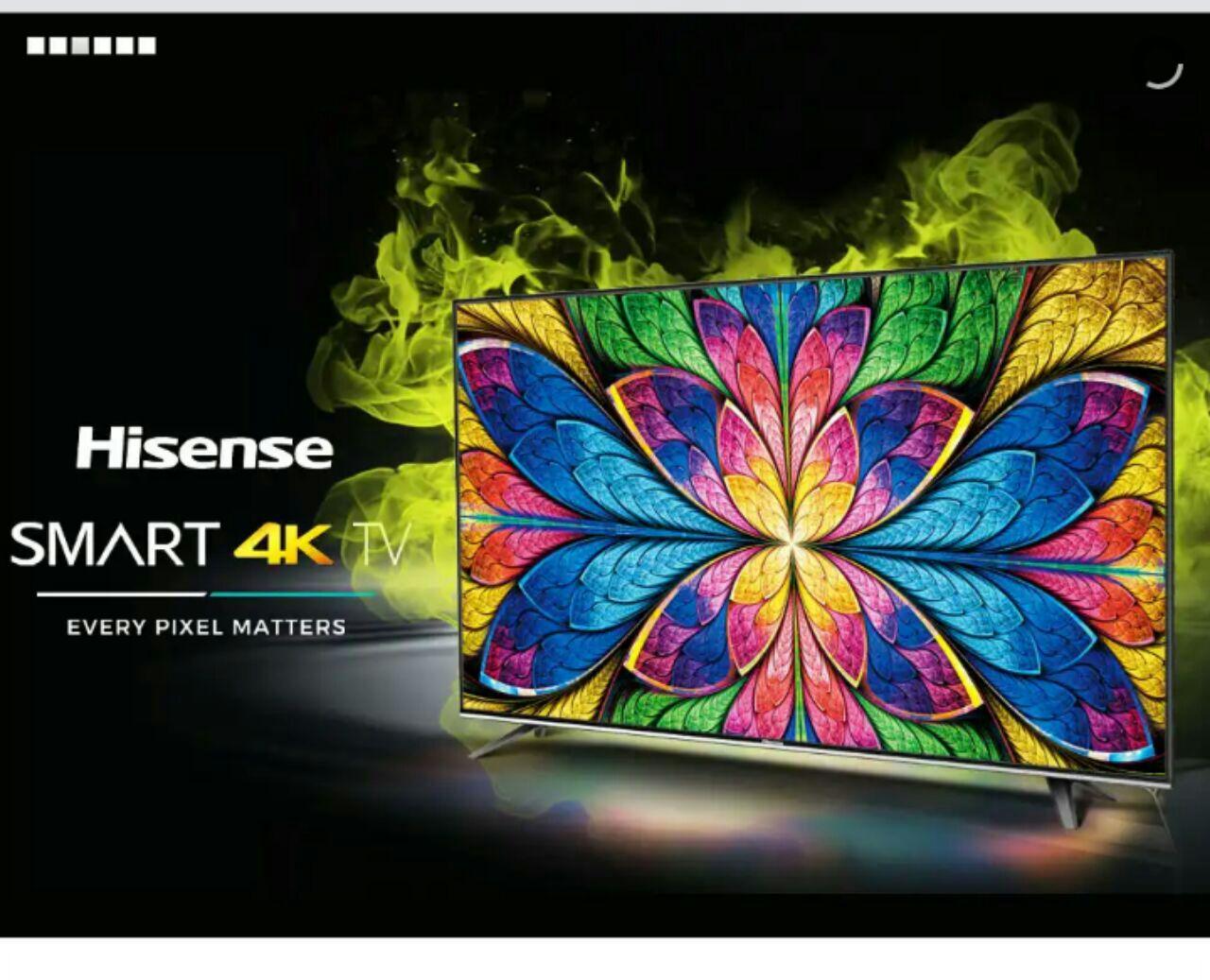تلویزیون ال ای دی 50 اینچ هایسنس Hisense فورکی 4k اسمارت smart