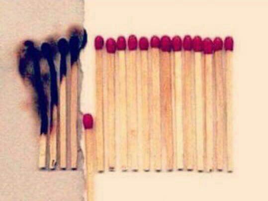 گاهي اگر كمي كوتاه بياييم، آتش همگان را نميسوزاند...