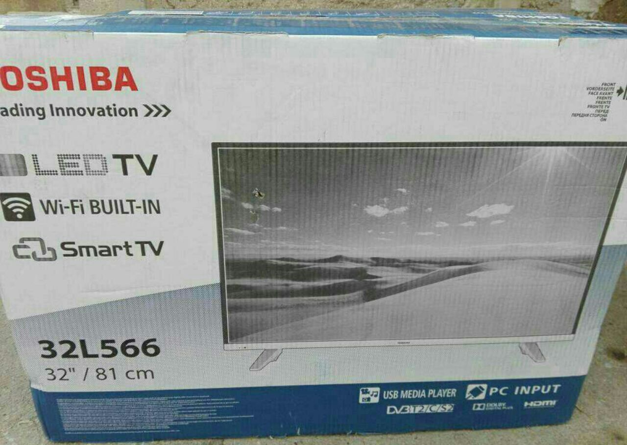 تلویزیون ال ای دی توشیبا Toshiba اندازه 32 اینچ اسمارت smart