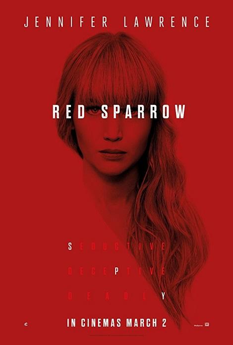دانلود فیلم گنجشک سرخ Red Sparrow 2018
