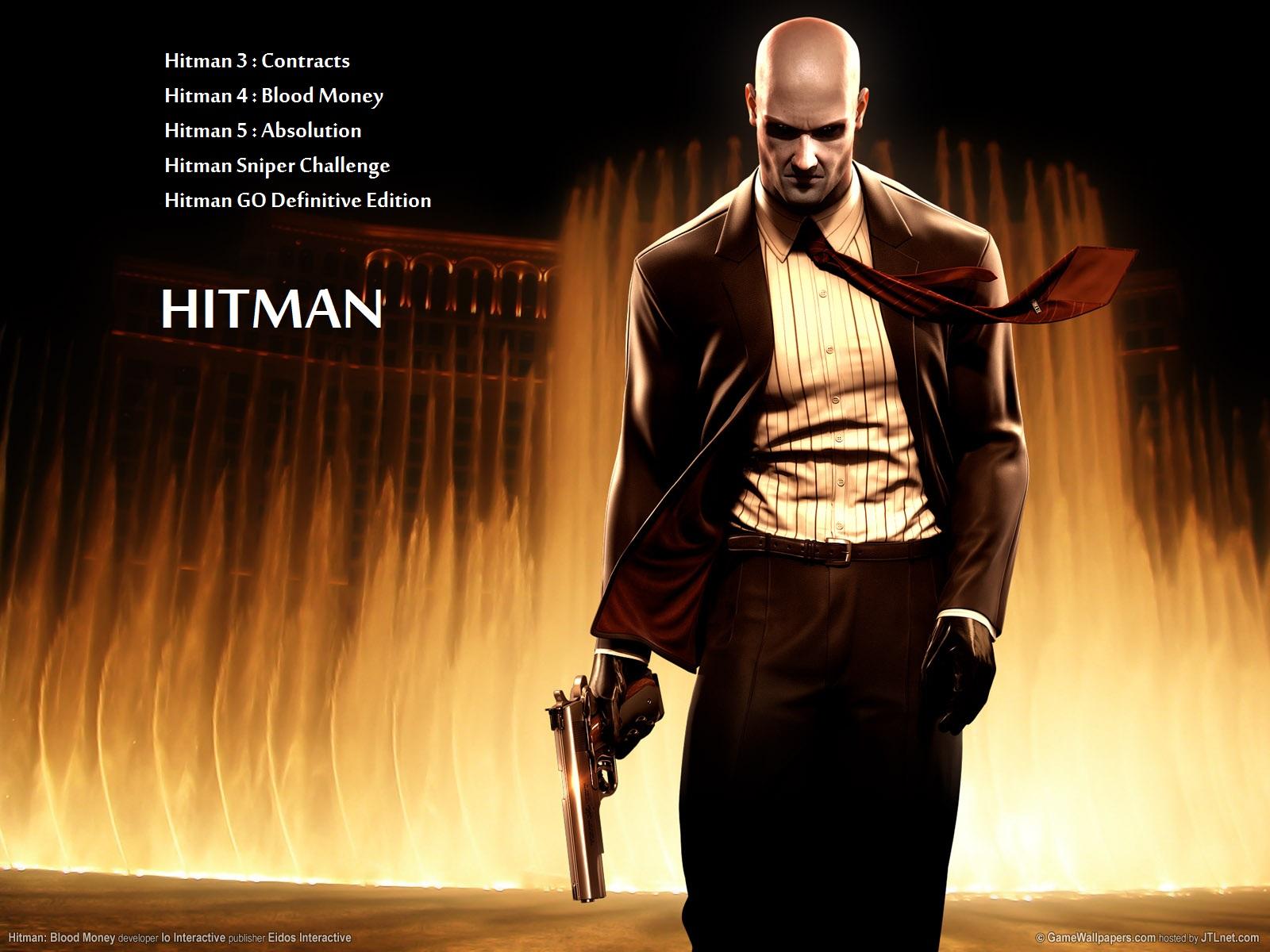 بازی Hitman 3-4-5 برای PC