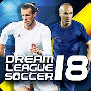 دانلود رایگان بازی Dream League Soccer 2018 v5.055 - بازی لیگ رویایی فوتبال 2018 برای اندروید و آی او اس + مود و دیتا