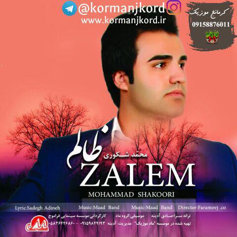 دانلود آهنگ جدید محمد شکوری به نام ظالم