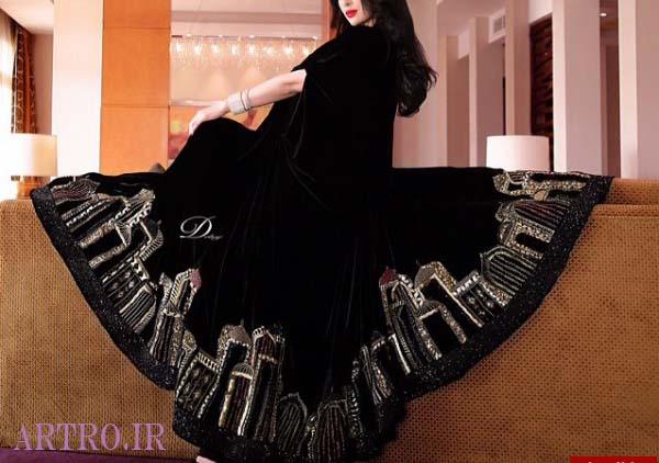 مدل مانتوی عبایی عربی 2019