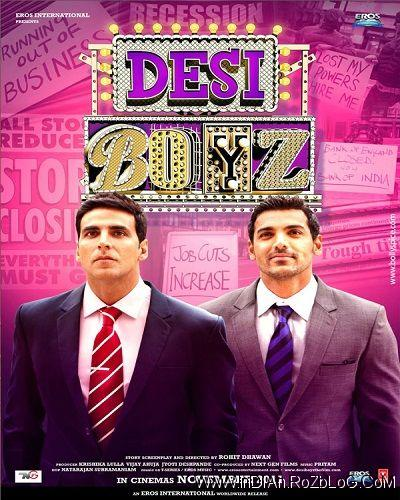 دانلود فیلم هندی پسران بد Desi Boyz 2011 با دوبله فارسی