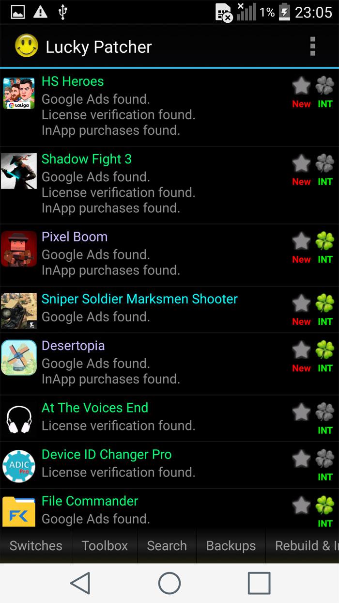 دانلود Lucky Patcher 7.3.7 - برنامه هک و تقلب در بازی ها و برنامه ها برای اندروید + مود