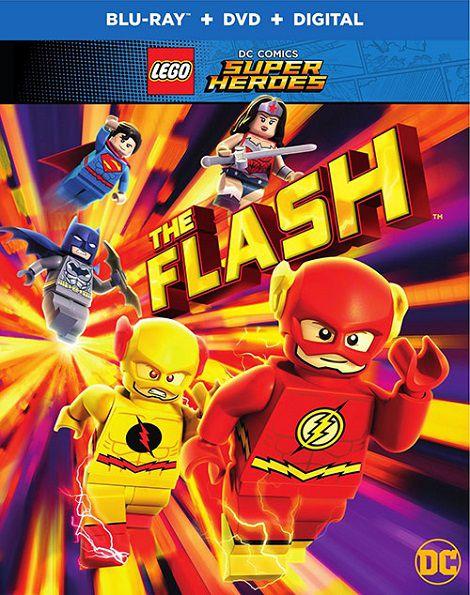 دانلود دوبله فارسی انیمیشن لگو: فلش Lego DC Comics Super Heroes: The Flash 2018