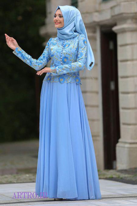 مدل های لباس مجلسی بلند زنانه 2018