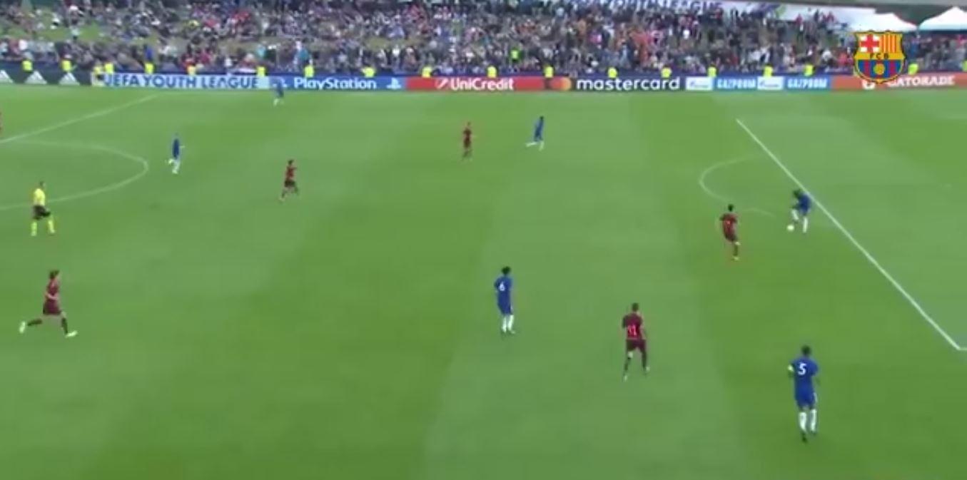 جوانان بارسلونا 3 - جوانان چلسی 0 (فینال قهرمانان اروپا)