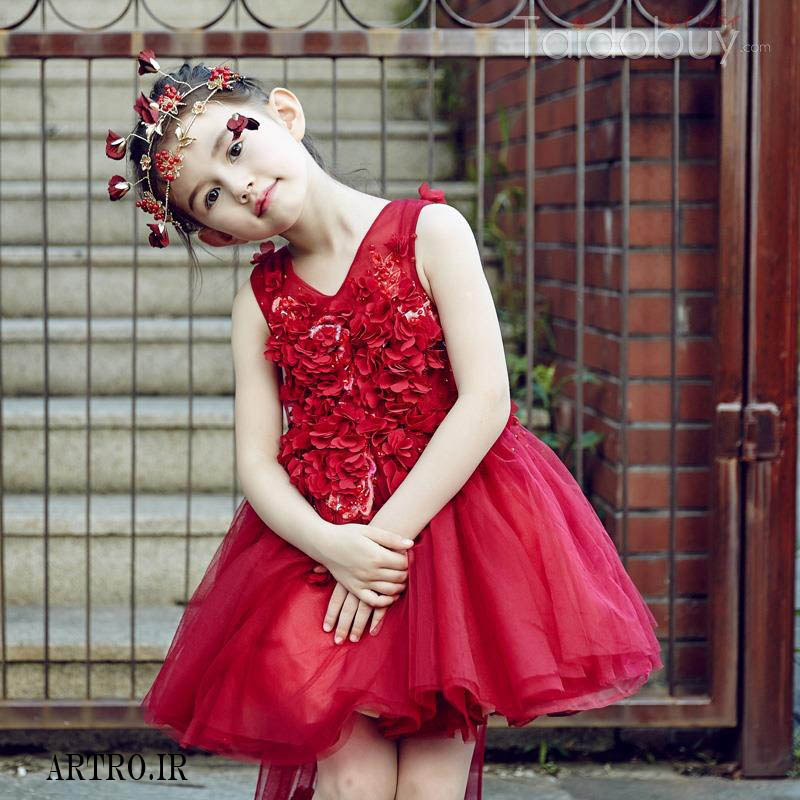 لباس مجلسی دختربچه 2018,97