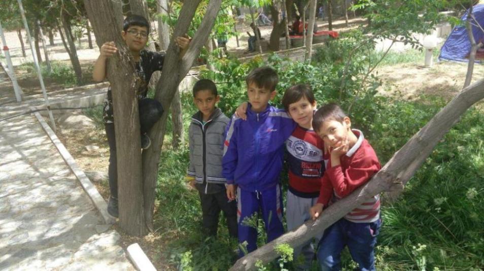 اردوی دانش آموزان به روایت تصویر بخش اول