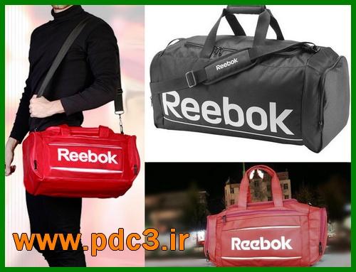 خرید کیف ورزشی باشگاه Reebok ریباک مشکی و قرمز