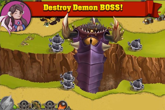 دانلود King of Defense_The Last Defender 1.4.4 - بازی استراتژی پادشاه دفاع_آخرین مدافع اندروید + مود