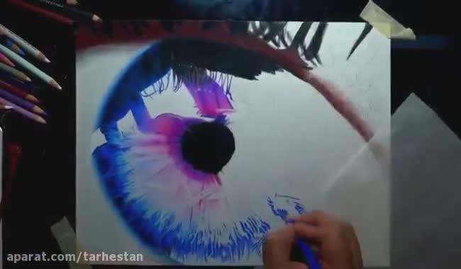 آموزش کشیدن چشم خوشگل
