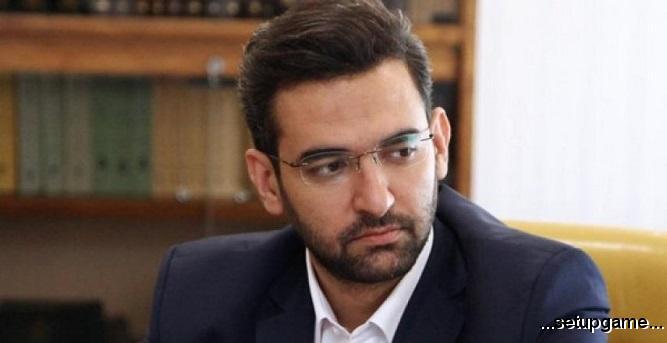 آذری جهرمی وزیر ارتباطات از سمت خود استعفا داد