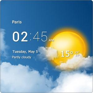 دانلود Transparent clock & weather Pro 1.36.01 – ساعت و آب و هوا برای اندروید