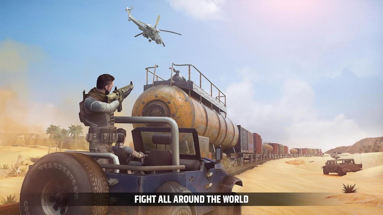 دانلود Cover Fire: shooting games 1.8.25 - بازی اکشن پشتیبانی آتش برای اندروید و iOS + مود + دیتا