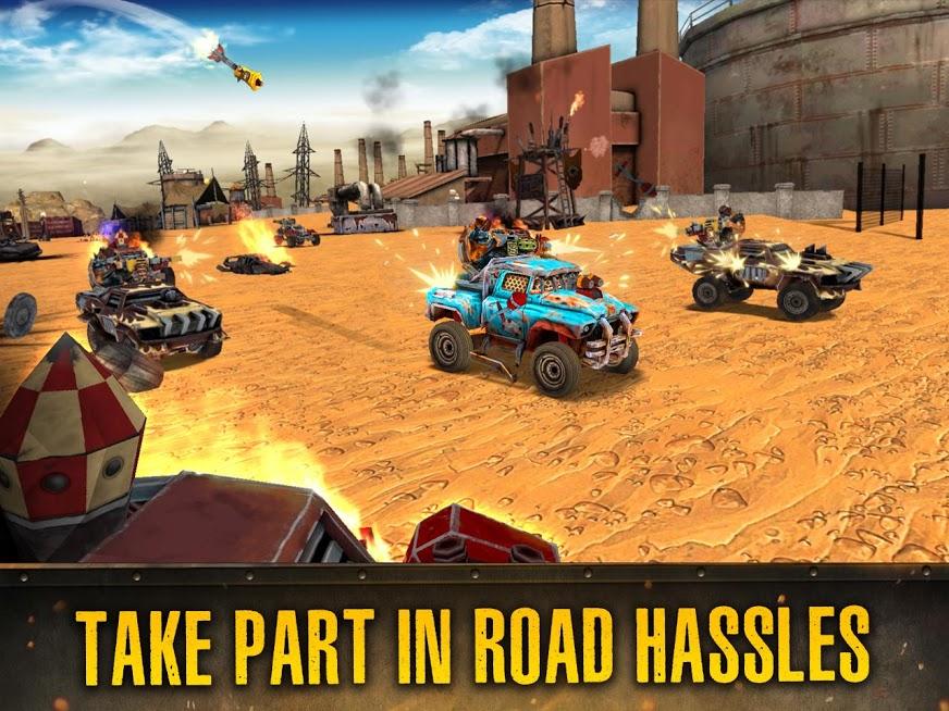 دانلود Dead Paradise: The Road Warrior 1.3.1 - بازی اکشن بهشت مرده برای اندروید + مود