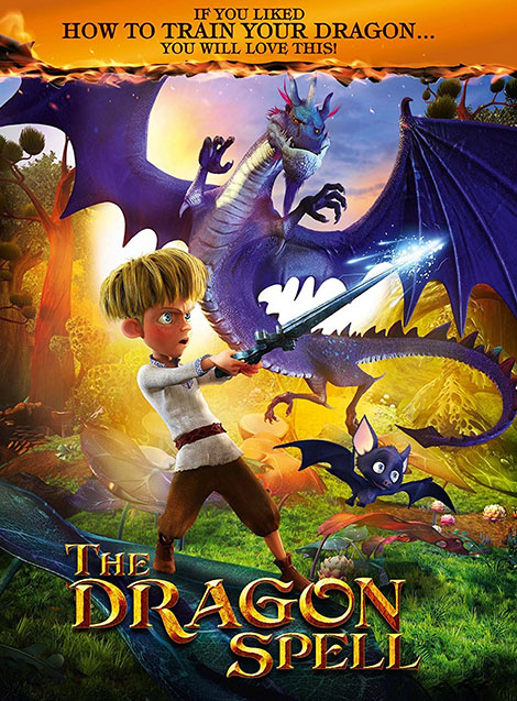 دانلود دوبله فارسی انیمیشن طلسم اژدها The Dragon Spell 2016