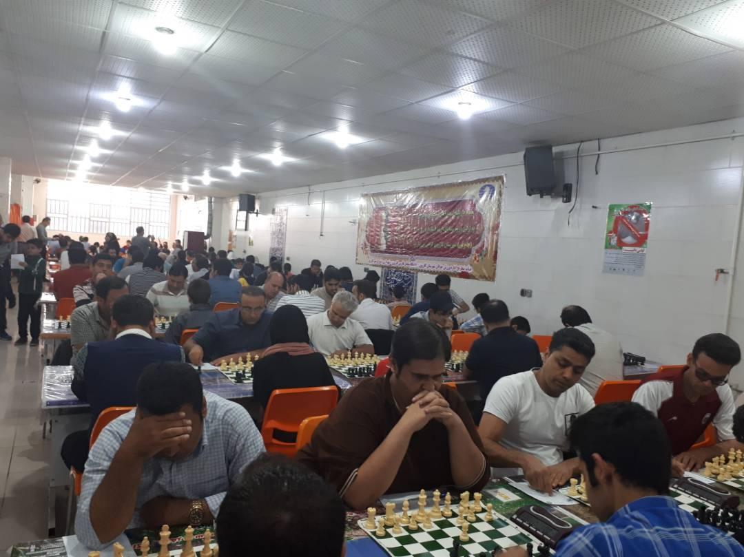 برگزاری باشکوه مسابقات آزاد کشوری شطرنج ریتد فکری(جام نور)  شهرستان کازرون