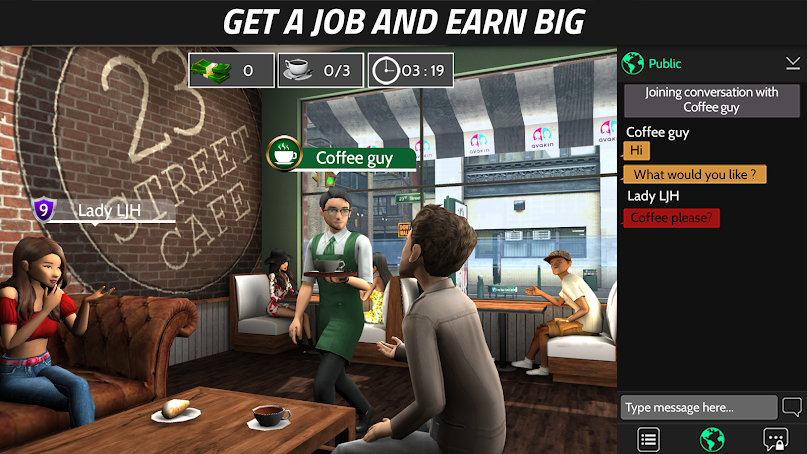 دانلود Avakin Life - 3D virtual world 1.021.13 - بازی زندگی آوکین  برای اندروید و آی او اس + مود