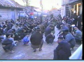 کلیپ کامل عزاداری مسجد جامع و دسته روی به سمت گلزار شهدا در محرم 84