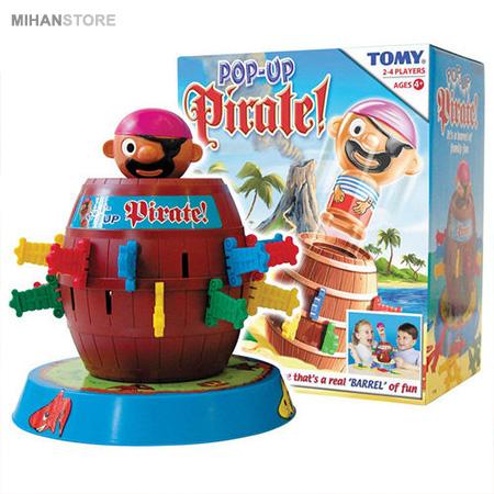 اسباب بازی دزد دریایی Barrel - بازی چند نفره بچه گانه