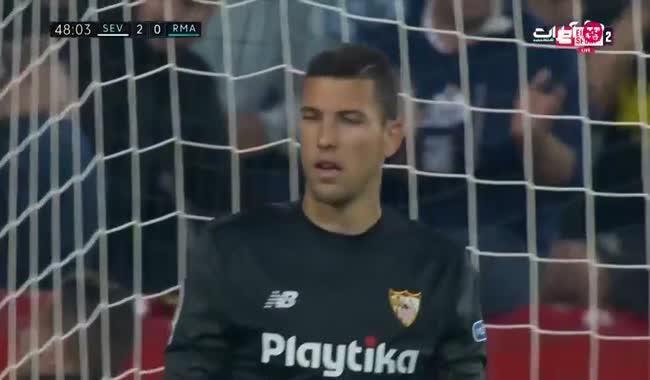 خلاصه بازی سویا 3-2 رئال مادرید (HD)