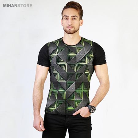 تی شرت سه بعدی Maze - تیشرت آستین کوتاه مردانه