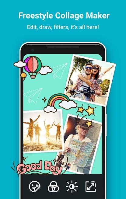 دانلود PhotoGrid: Video & Pic Collage Maker 6.77 - برنامه ویرایش و ترکیب تصاویر اندروید و آی او اس