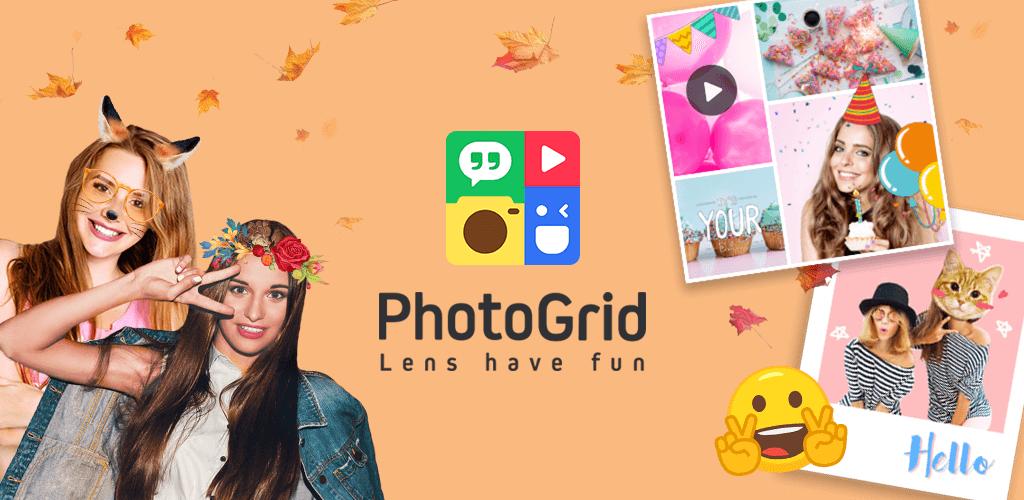 دانلود PhotoGrid: Video & Pic Collage Maker - برنامه ویرایش و ترکیب تصاویر اندروید و آی او اس