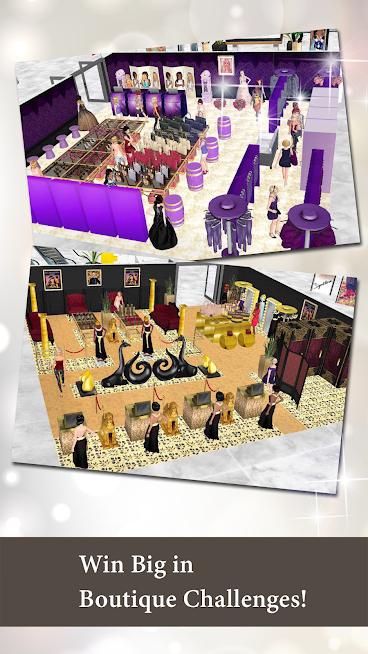 دانلود بازی امپراتوری مد - بوتیک سیم Fashion Empire - Boutique Sim