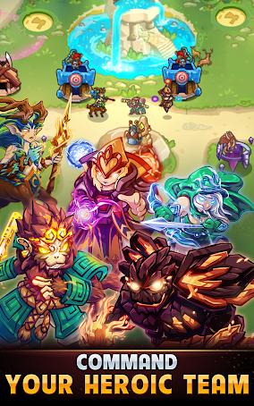 دانلود Kingdom Defense: Hero Legend TD 1.3.3 - بازی پادشاهی دفاع برای اندروید و iOS + مود