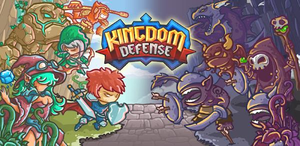دانلود Kingdom Defense: Hero Legend TD v1.1.10 - بازی پادشاهی دفاع: افسانه قهرمان دفاع برج برای اندروید و iOS