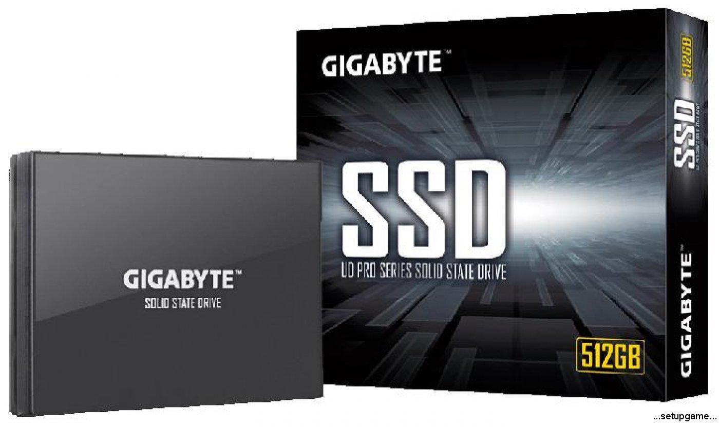 گیگابایت با SSD های قدرتمند UD Pro به دنیای رقابت آمد!