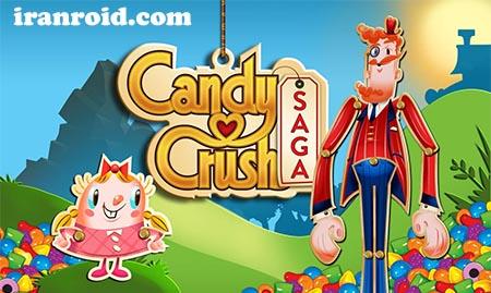 دانلود آخرین نسخه اندروید بازی Candy Crush Saga V 1.120.0.2 – افسانه آبنبات