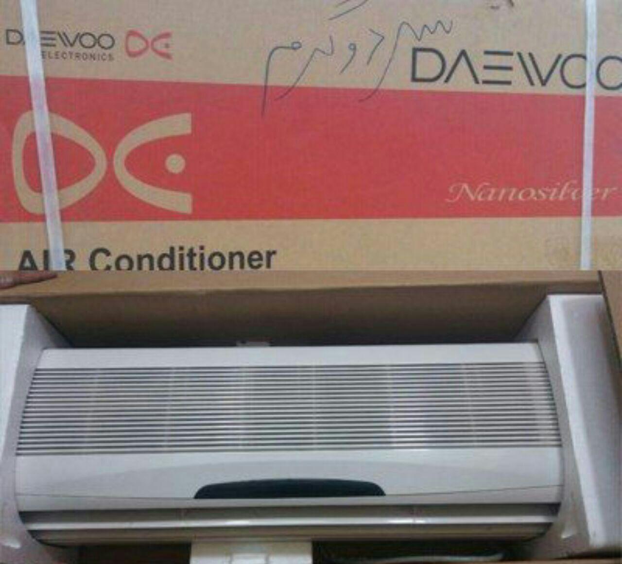 کولر گازی دوو daewoo مونتاژ کره  کم مصرف موتور پرقدرت هزینه ارسال رایگان
